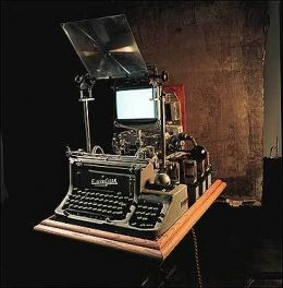 The funky computer terminals from Terry Gilliam's movie BRAZIL have a great steampunk quality.