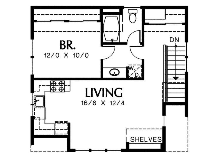 22 best apartment floor plans images on pinterest floor for Garage apartment floor plans do yourself