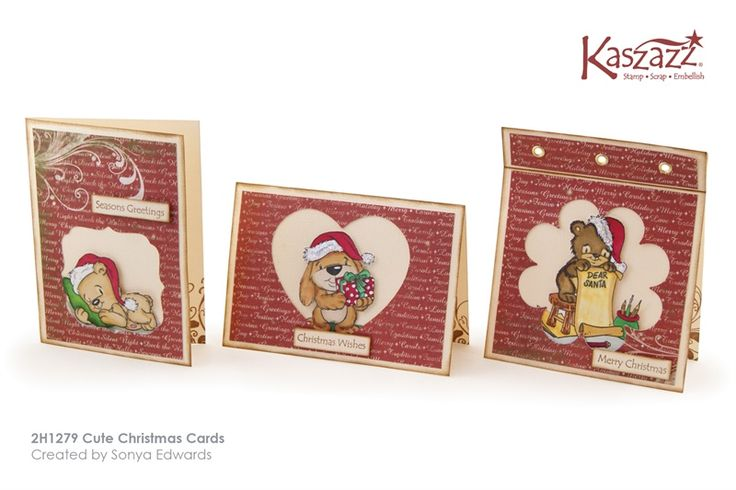 2H1279 Cute Christmas Cards