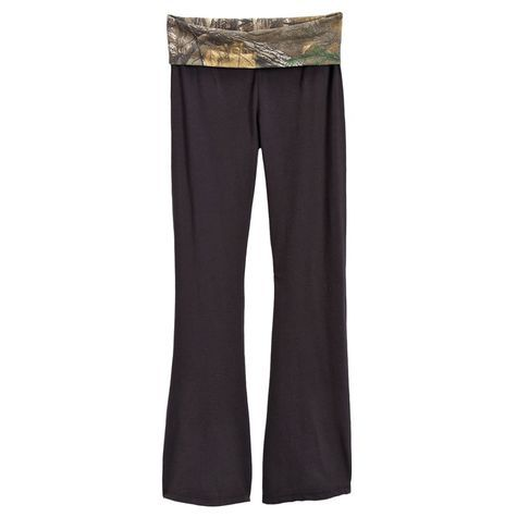 Realtree Juniors Camo Yoga Pants