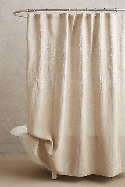 14 best no-plastic shower curtain images on Pinterest | Shower ...