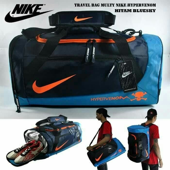 Travel Bag Hypervenom Hitam Biru Travel Bag 3 In 1 Adalah Tas