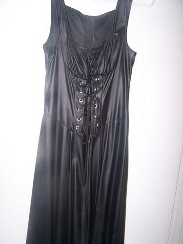 LIP SERVICE long vinyl dress
