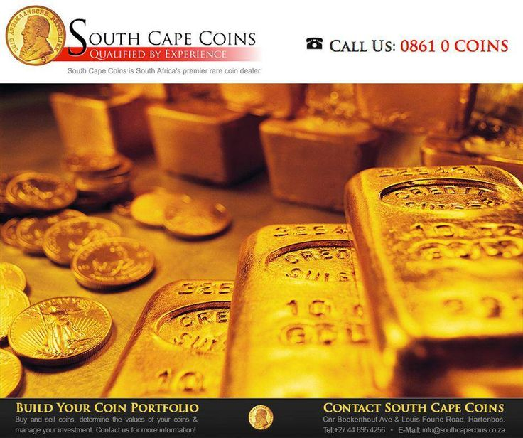 #Investing in gold #coins is a big, but wise, decision. If you're thinking about it, consult with the experienced staff at #SouthCapeCoins. For more information about our products and services enquire now at Web: http://anapp.link/5D0 or Mobile: http://anapp.link/5D1.
