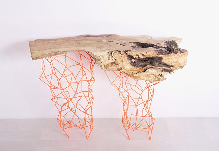 maximo riera makes the millennial console collection from ancient trees