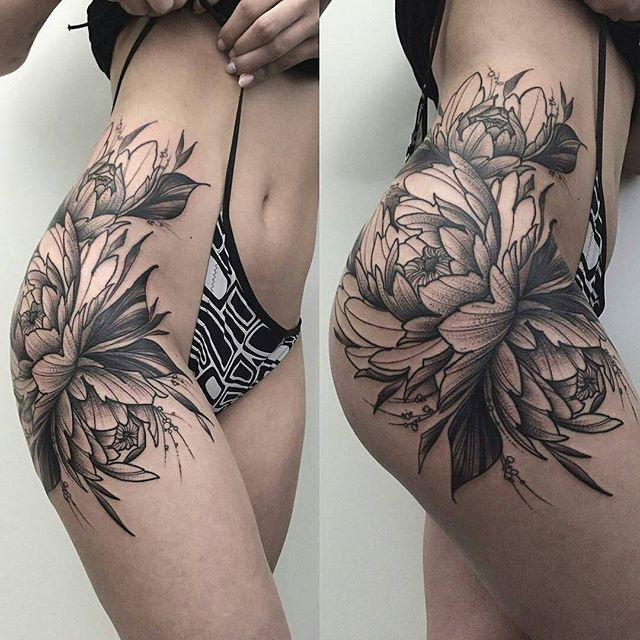 Ms. Cramer: I would love a clover-flower version of this, with clover leaves too. Love the size, placement, flow of the lines, and mix of femininity and bad-assery
