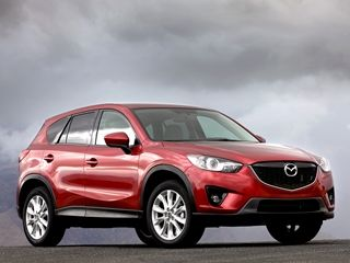 Mazda CX-5 balances impressive mileage-making capabilities with outstanding handling characteristics. In addition to a long list of standard features, all CX-5 trim levels offer the choice of front- or all-wheel drive. 29 mpg combined (26 city, 32 hwy).  10 Most Fuel-Efficient SUVs of 2013 - Kelley Blue Book