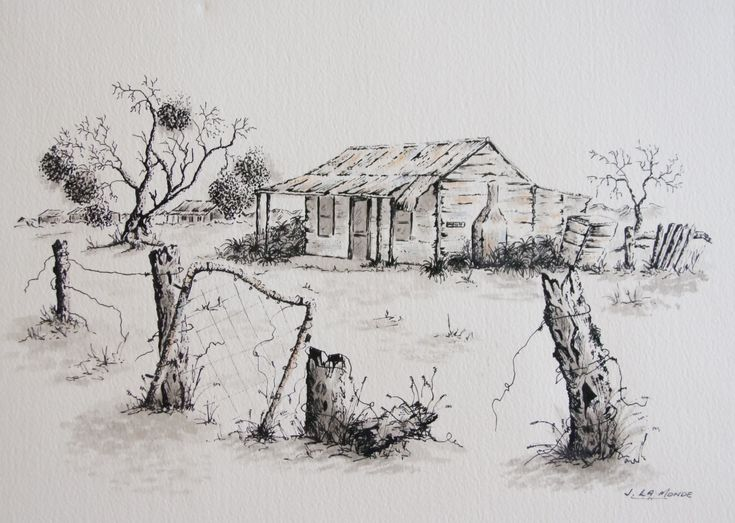 More fabulous Australian outback drawings by Judy LaMonde very inexpensive and a fabulous artwork to add to your collection. See more in the gallery at www.artinvesta.com