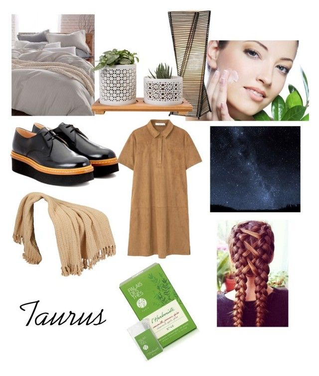"""""""Zodiac outfits: Taurus"""" by gabbybm ❤ liked on Polyvore featuring Adesso, Donna Karan, Tod's, MANGO and Palais des Thés"""