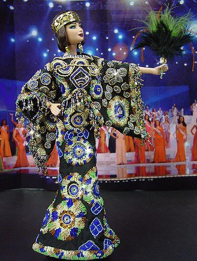Ninimomo: OOAK Barbie, Miss Egypt 2009