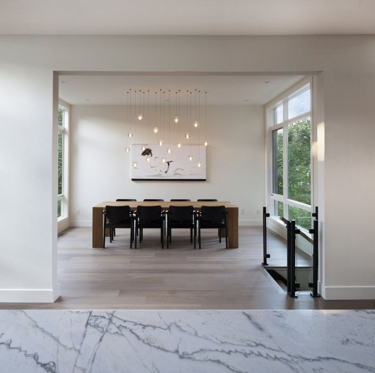 paint home design%0A Decoration  Excellent Home Design Of Westboro Home In Ontario By Kariouk  Associates Featuring Marble Countertop Parquet Floor  Wooden Dining Table  Plus