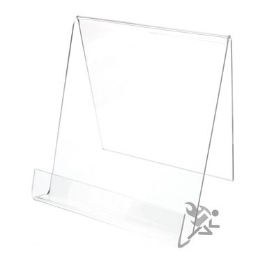 """6"""""""" Book Display Stand Easel with 7/8"""""""" Resting Shelf"""