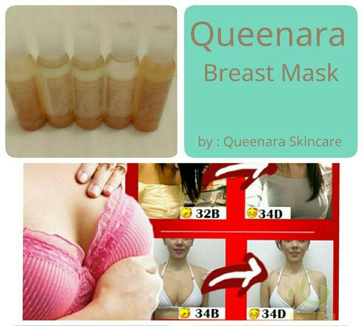 ♔ Queenara Breast Mask ♔  IDR 85.000  Queenara Breast Mask atau masker payudara Queenara mengandung bahan-bahan alami yang aman digunakan oleh remaja maupun ibu hamil sekalipun.  Bahan-bahan yang terkandung di dalamnya dengan cepat dapat diserap oleh kulit anda, yang akan berguna mempercepat aktivitas organik di payudara, untuk memperlambat proses penuaan kulit payudara. Sehingga membuat payudara anda terlihat lebih elastis dan kencang.  FUNGSI Queenara Breast Mask : -membesarkan payudara…