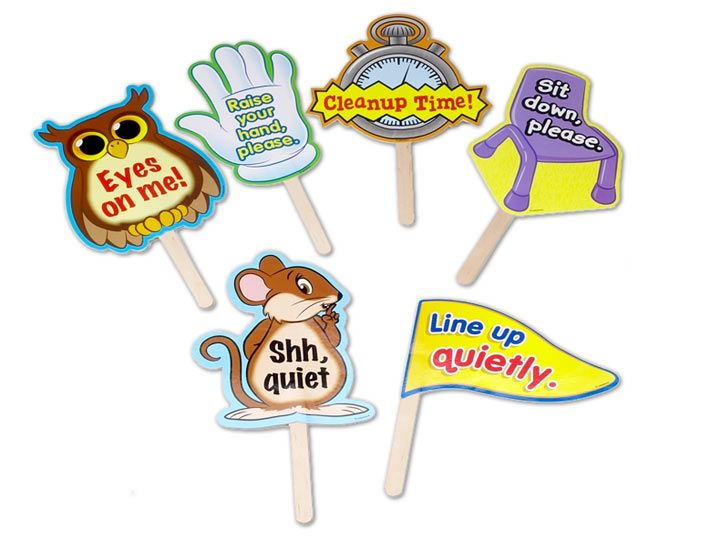 Classroom Management Signs. These could be used in so many different ways, but they best thing is that you don't have to raise your voice. 8520