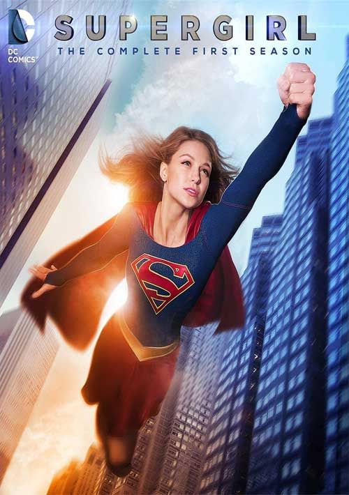 Supergirl - Updated Blu-ray, DVD Cover Art for 'The Complete 1st Season'