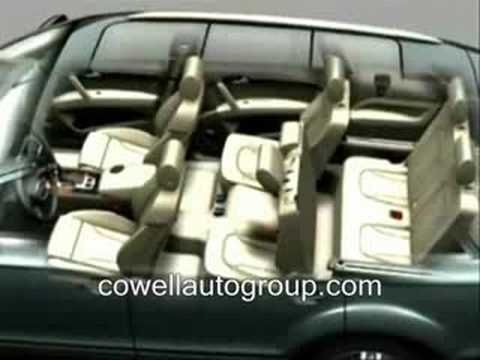 Audi Q7 Interior Space video, a little old, but basically the same in newer models