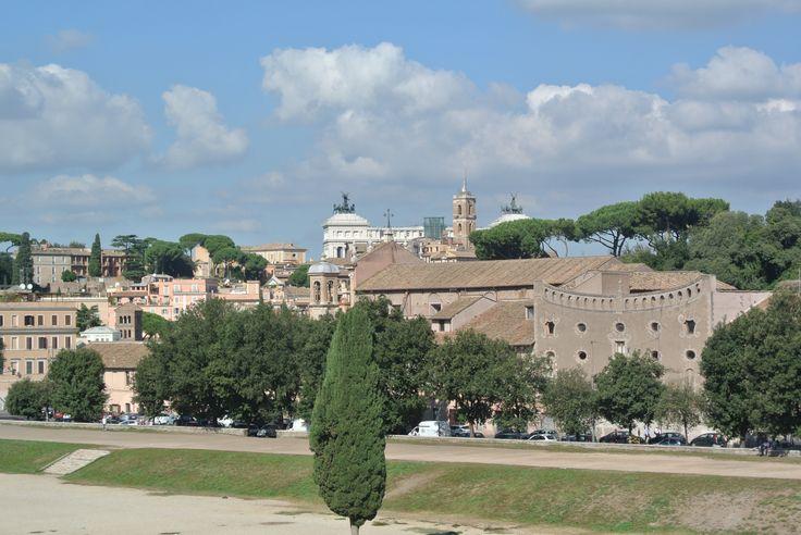 The Circus Maximus in Rome, Italy