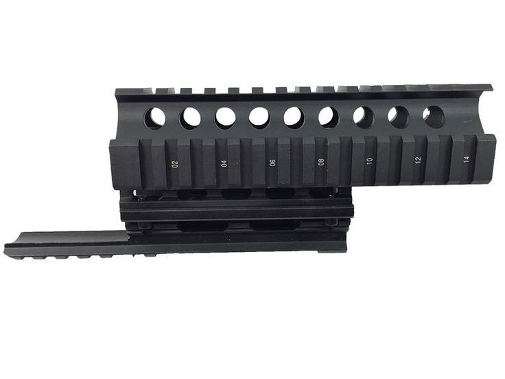 AK 47/74 Tactical Quad Rails Handguard Rail Hunting Shooting ris Quad Rail mount Weaver Picatinny Mount Hunting Accessories