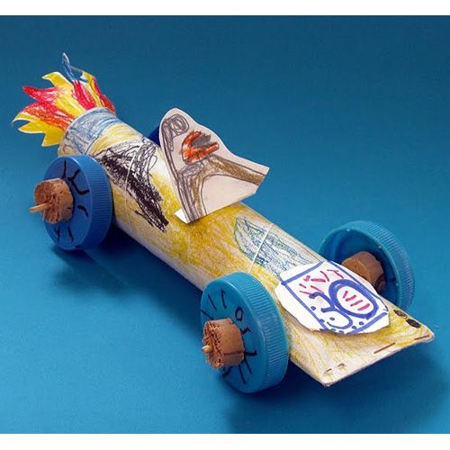 10 race car crafts and activities