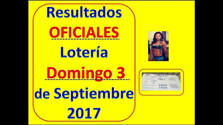 Resultados Sorteo Domingo 3 Septiembre 2017 Loteria Nacional Panama Que Jugo Domingo 3 de Septiembre