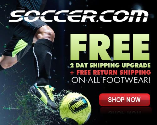 Eurosport's SOCCER.COM has all the soccer gear you want.