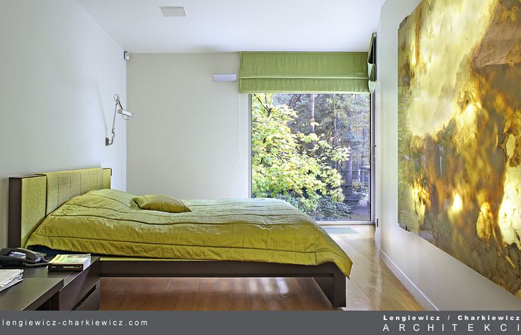Wnętrza luksusowej rezydencji w Konstancinie. Sypialnia. Projekt i realizacja: lengiewicz-charkiewicz.com #bedroom (fotografia: Hanna Długosz)