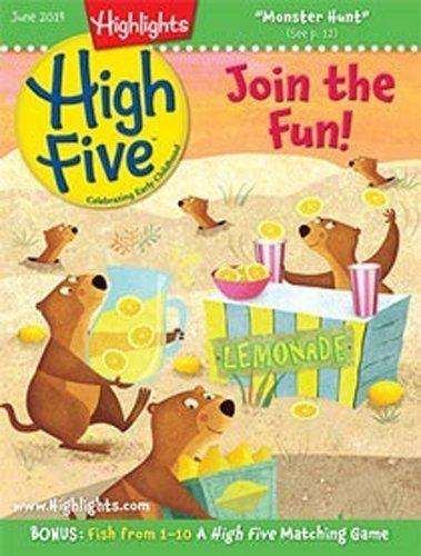 Highlights High Five Magazine Subscription Highlights for Children, http://www.amazon.com/dp/B000I0RKX2/ref=cm_sw_r_pi_dp_j-5iub023NYXY