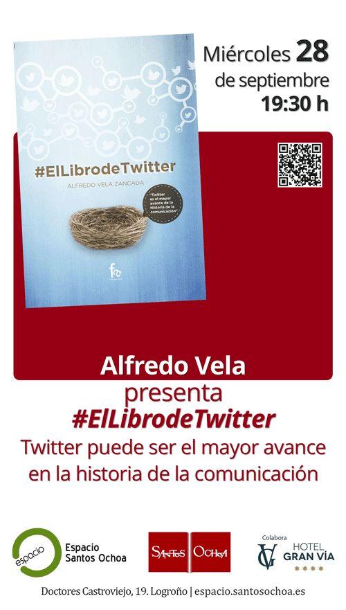 Si el día 28 de septiembre estáis por Logroño, quedáis invitados a la presentación de #ElLibrodeTwitter que se celebrará en la librería Sanchez Ochoa a las 19:30 #lariojapromete #RiojaBaja