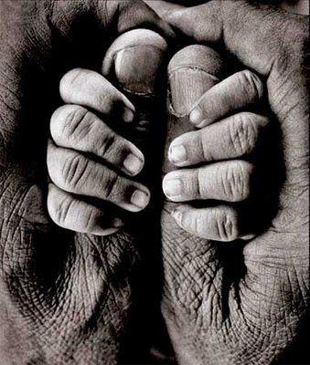Father and son by Raghu Rai