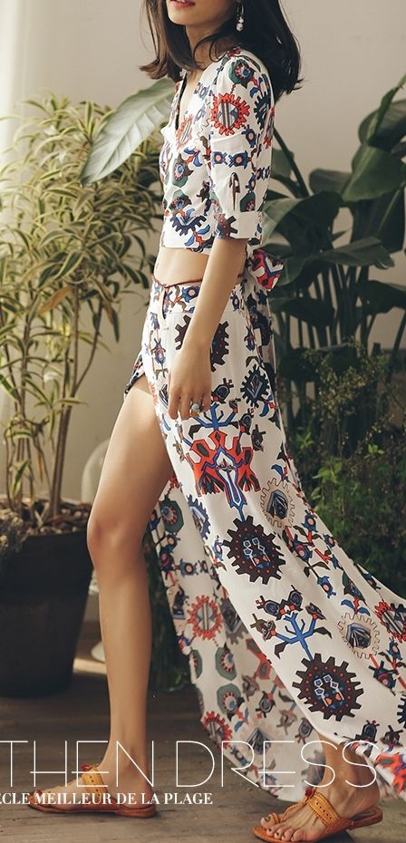 SINCE THEN new resort style suit hippie bohemian dress