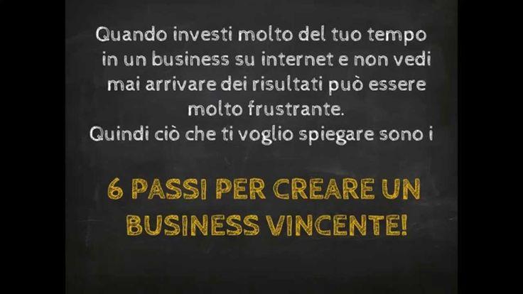 Come Guadagnare Online - 6 Passi per Creare un Business su Internet