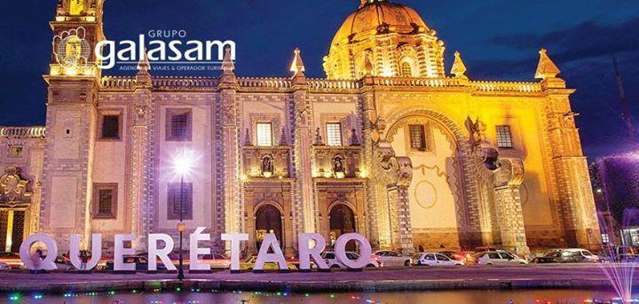 Visitemos juntos #Querétaro en la peregrinación a #México del 27 de marzo al 4 de abril cuyo Centro Histórico ha sido reconocido como Patrimonio Cultural de la Humanidad. Informes: 04 2304488  peregrinaciones@galasam.com.ec