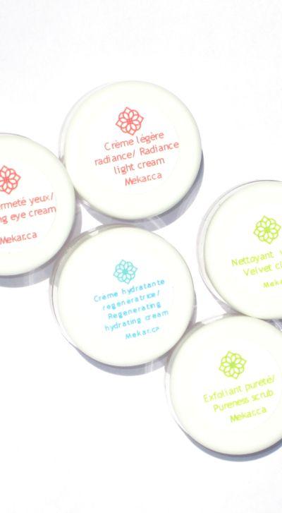 Connaissez-vous les produits Mekar?  Voici l'option parfait pour essayer avant d'acheter! // Do you know Mekar's product?  Here's the perfect option to try before you buy!  #Mekar #vegan #organic #skincare #cosmetic #healthy