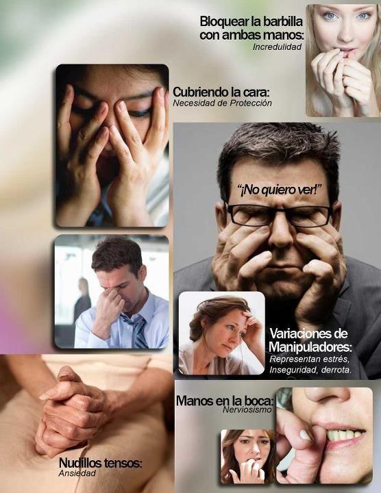 Una muestra de tips de lenguaje corporal...