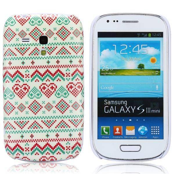 Hartjes aztec hoesje Samsung Galaxy S3 mini