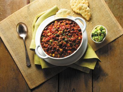 Best 25 goya chili recipe ideas on pinterest chicken fajita vegetarian chili chili recipe food networkblack forumfinder Image collections