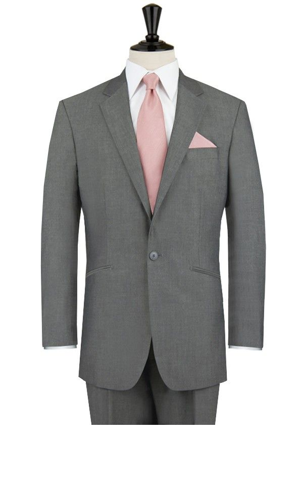 Buy Alexander Dobell Silver Grey Suit with Notch Lapel Online | MyTuxedo