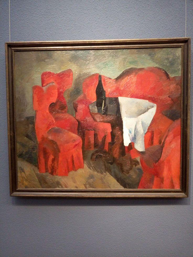 Фальк. Красная мебель. 1920.