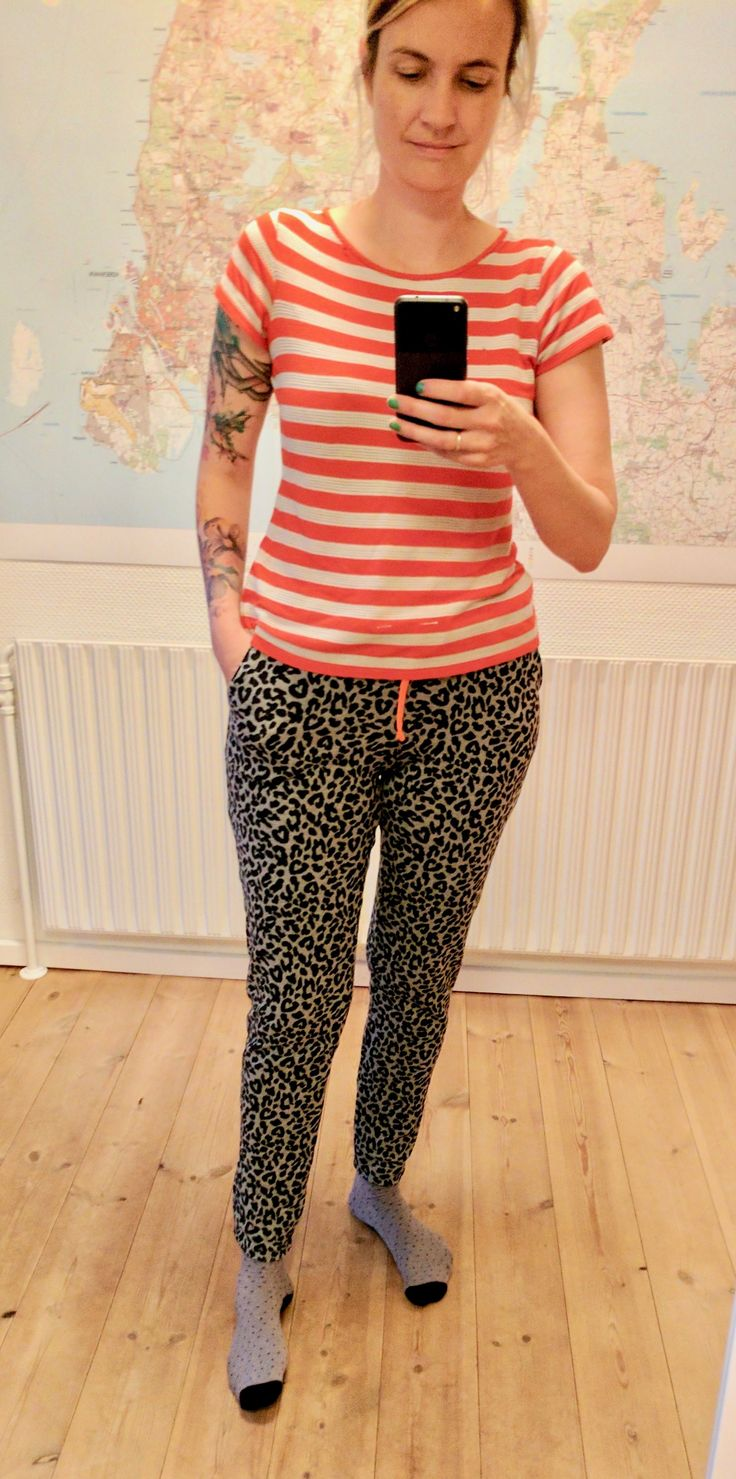 Comfy jersey pant, pattern traced from a pair from the store