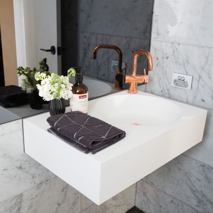 Dean and Shay Room 5 | Study, Laundry and Powder #theblock #theblockshop