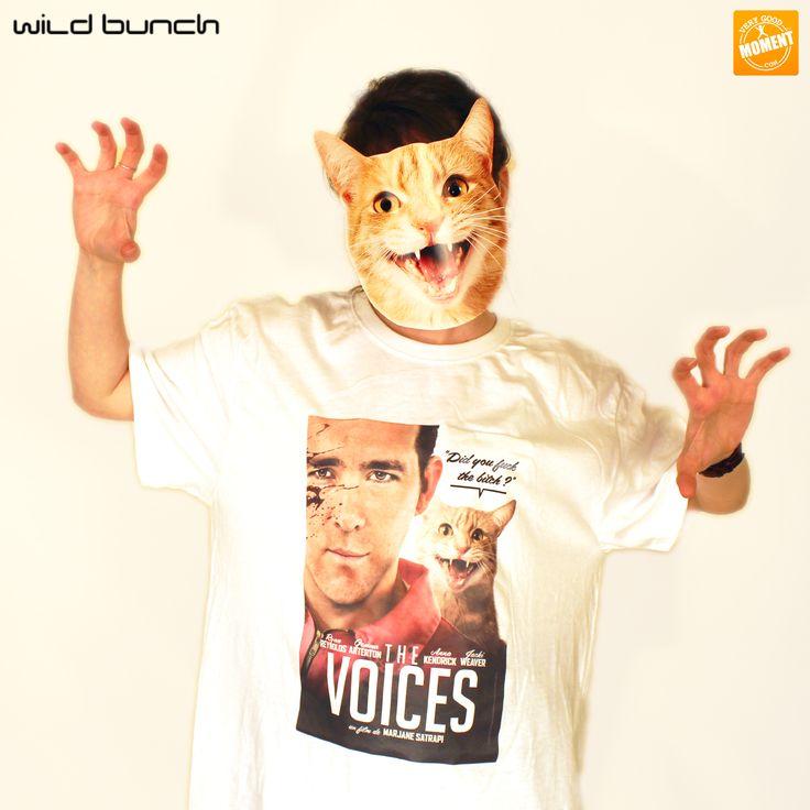 Déguisez-vous avec les masques de chats et les t-shirts associés aux film #WildBunch ! Ils seront dans les colis qui vous attendent à la fin du parcours du Moment 20 Minutes ! #VeryGoodMoment #LeParisde20minutes