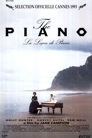 La leçon de piano (1993), une film de Jane Campion, avec Holly Hunter, Harvey Keitel, Sam Neill