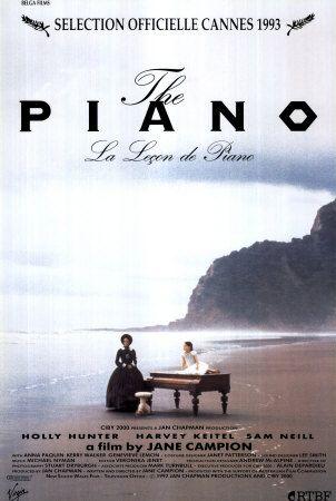 La leçon de piano (1993), une film de Jane Campion, avec Holly Hunter, Harvey Keitel, Sam Neill