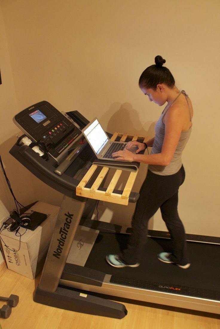 Gourmet Runner: DIY Treadmill Desk