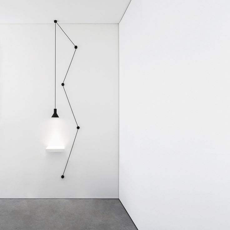 NEURO Suspension Wall Lamp. Design Davide Groppi and Beppe Merlano.