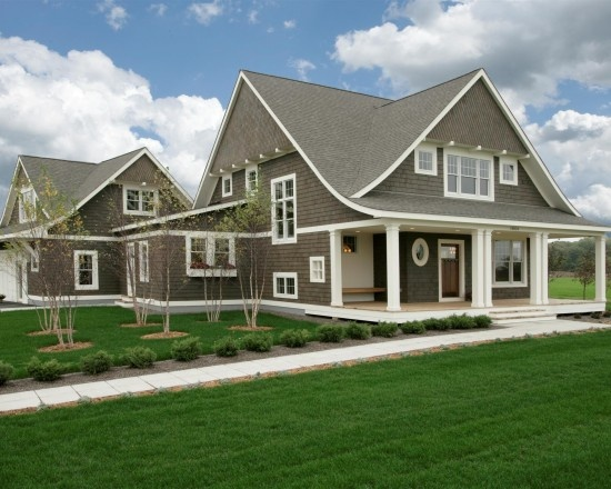 Gorgeous.: Capes Cod Styles, Ron Brenner, Dream House, Exterior Color, Curb Appeal, Traditional Exterior, Ranch Styles Homes, Design Blog, Front Porches