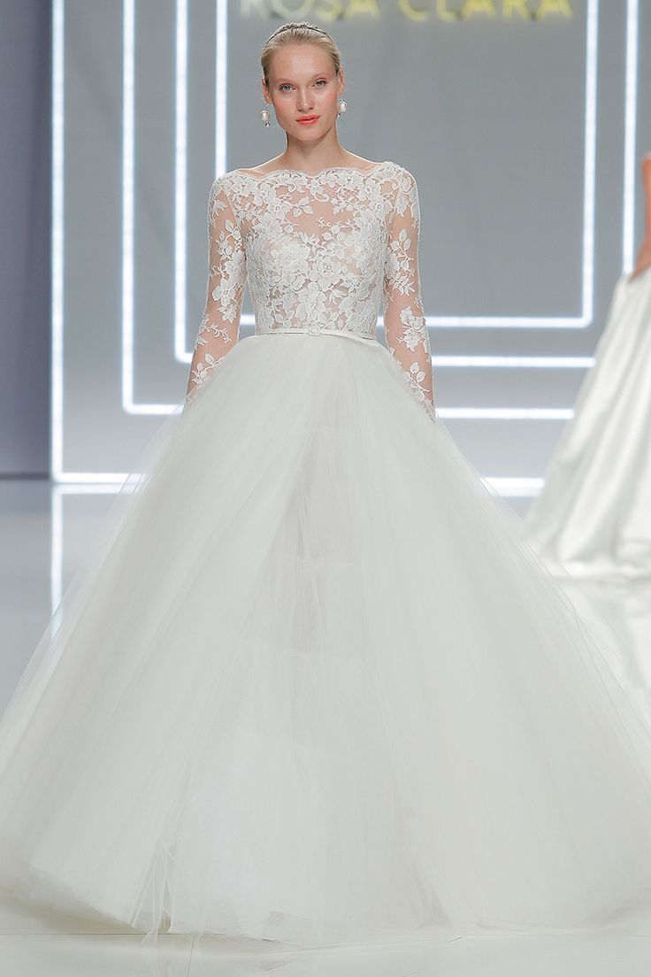 436 best images about long sleeved wedding dresses on for Long sleeve wedding dresses pinterest