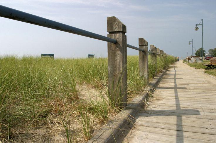 The Kincardine Boardwalk along the beach is a wonderful place for a stroll!