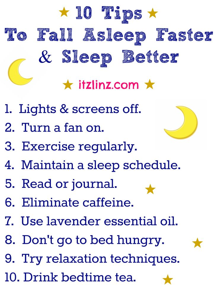 10 Tips To Fall Asleep Faster & Sleep Better #FitFluential