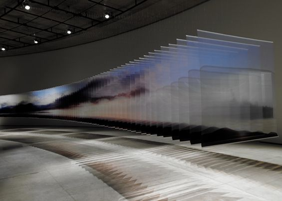 Translucent, Layered Landscapes Portray The Gentle Passing Of Time - DesignTAXI.com